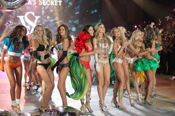 Défilé Victoria's Secret à New York, le 7 novembre 2012.