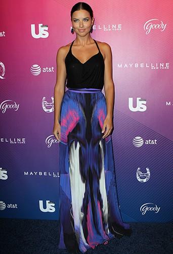 Adriana Lima à New York le 10 septembre 2014