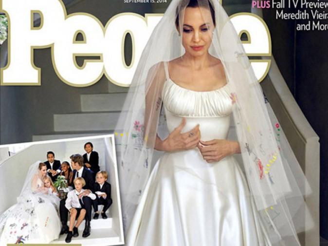 Brad Pitt épouse Angelina Jolie