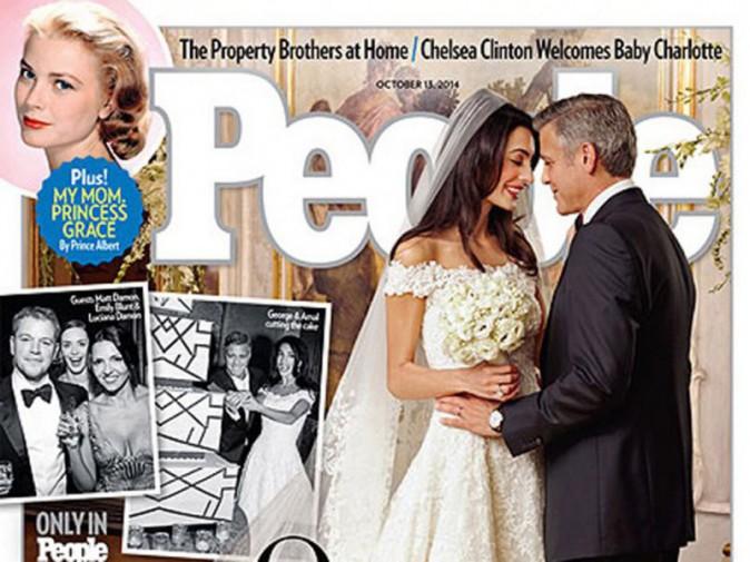 George Clooney épouse Amal Alamuddin