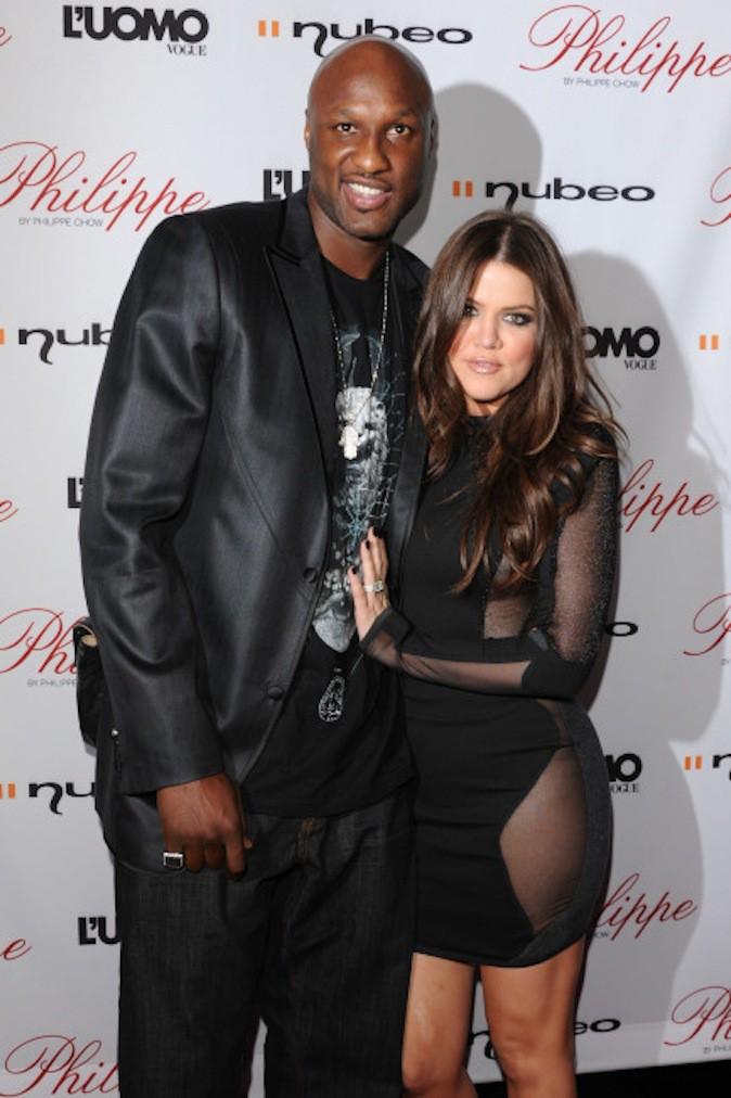 Lamar Odom et Khloe Kardashian, le calme avant la tempête !