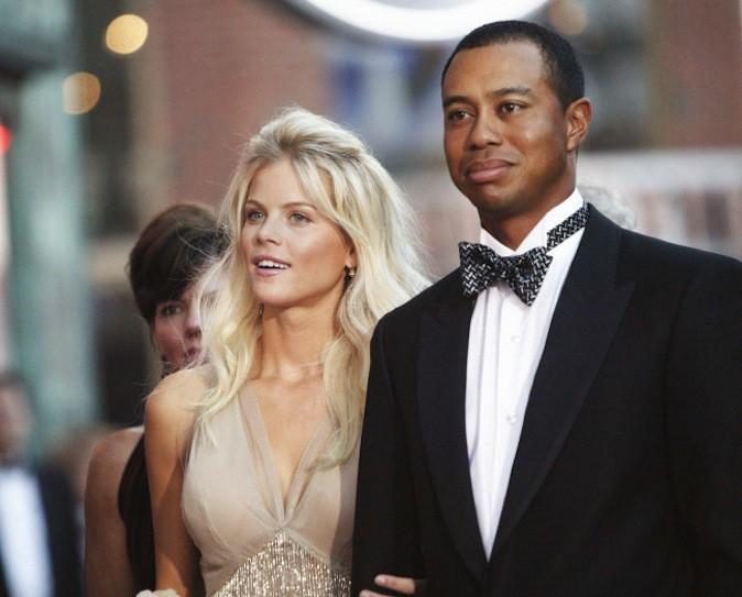 Tiger Woods et son ex épouse Elin Nordegren avant qu'elle ne le quitte à cause de ses nombreux adultères !