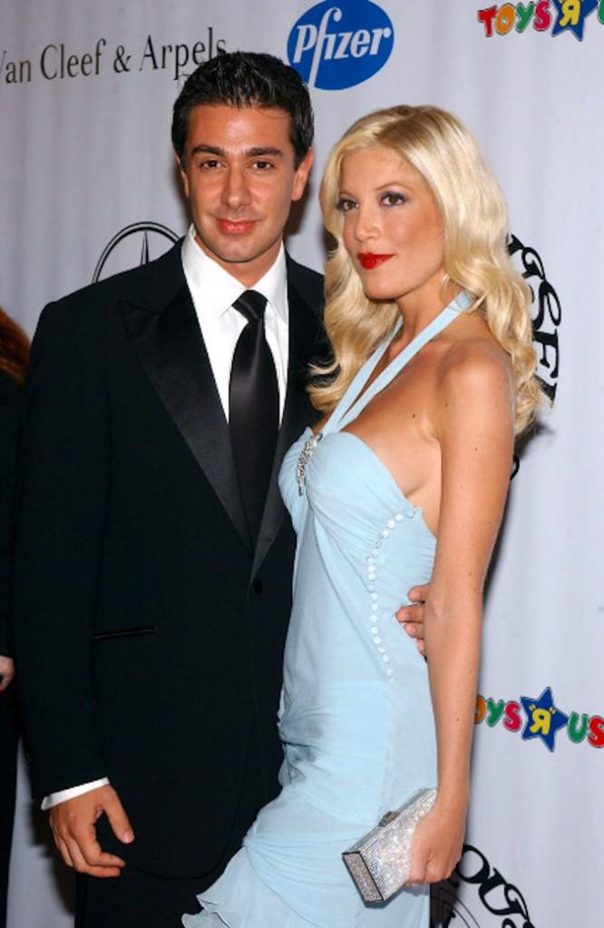 Tori Spelling et son premier mari Charlie Shanian !
