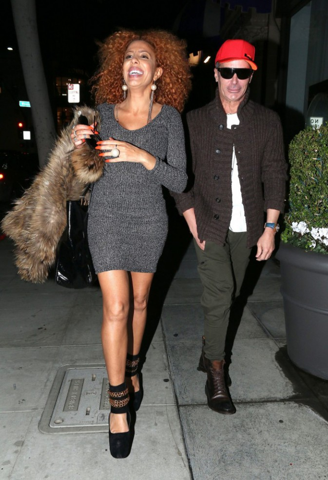 Photos : Afida Turner : la tigresse ultra-sexy à Beverly Hills, complice avec Lloyd Klein pour un projet fashion !