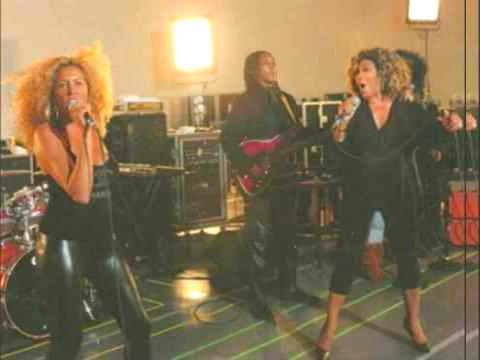 Afida, Ronnie et Tina Turner