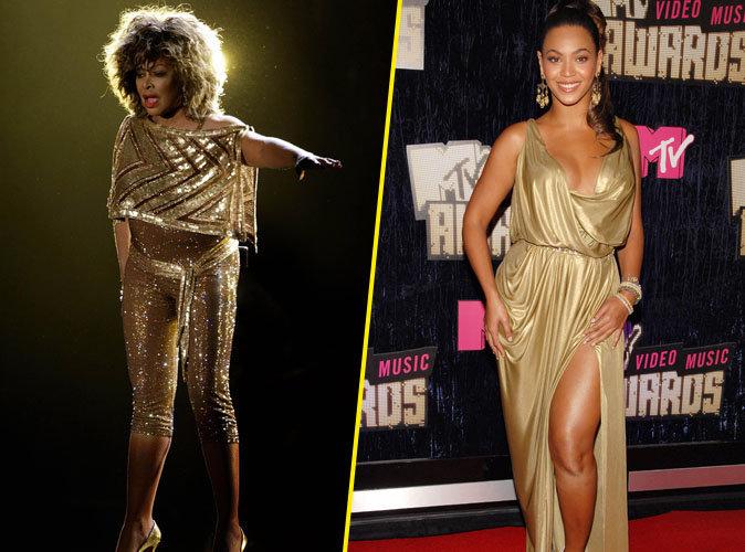 Tina Turner et Beyoncé