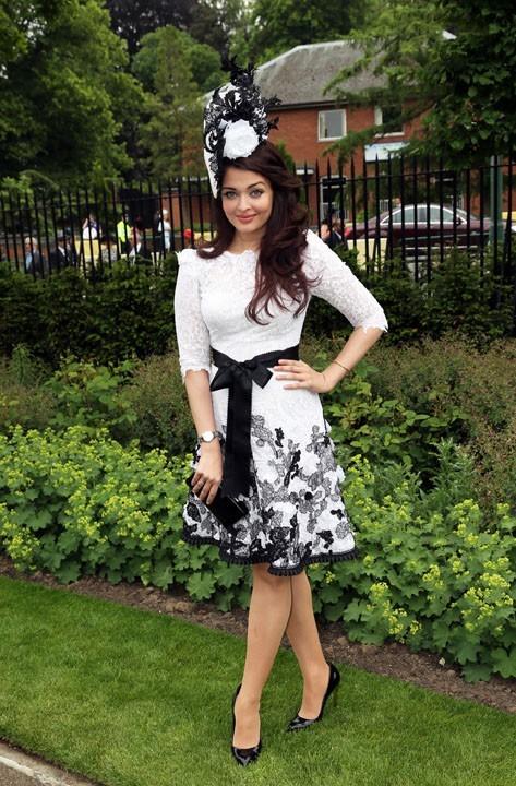 Aishwarya Raï à Ascot le 18 juin 2013