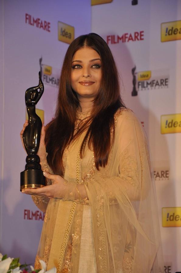 Aishwarya Rai à Bombay, en Inde, le 10 janvier 2013
