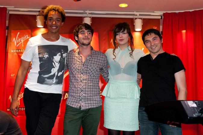 Al.Hy, Atef, Stephan Rizon et Louis Delort en dédicaces à Paris le 21 juin 2012