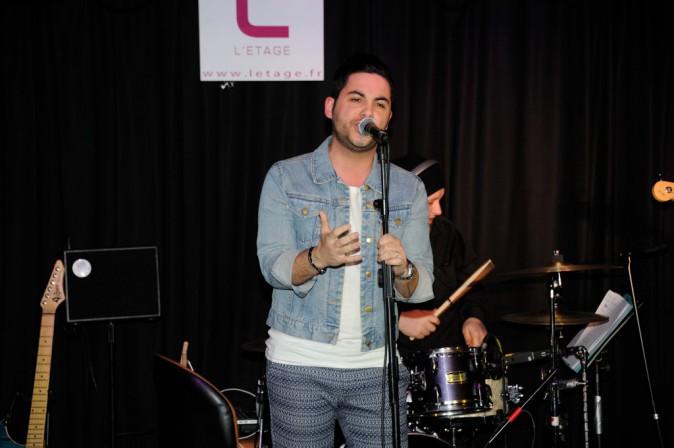 Alban Bartoli en showcase ce mercredi 5 mars