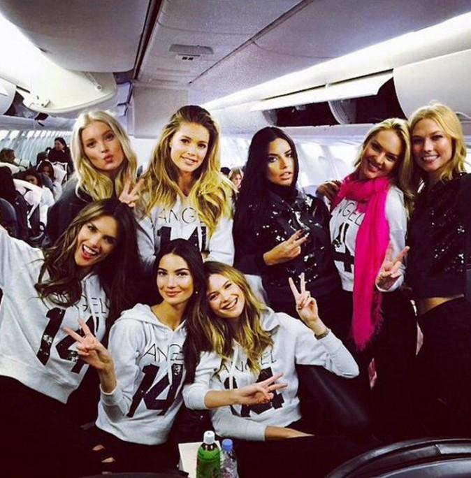 Alessandra Ambrosio, Adriana Lima, Doutzen Kroes : tous les Anges Victoria's Secret sont en route pour Londres !