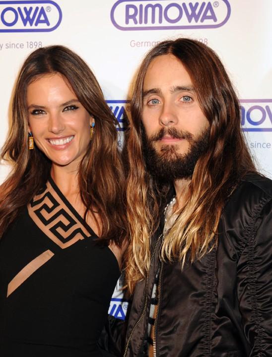 Alessandra Ambrosio et Jared Leto à New-York le 28 octobre 2014