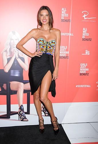 Alessandra Ambrosio à New York le 4 septembre 2014