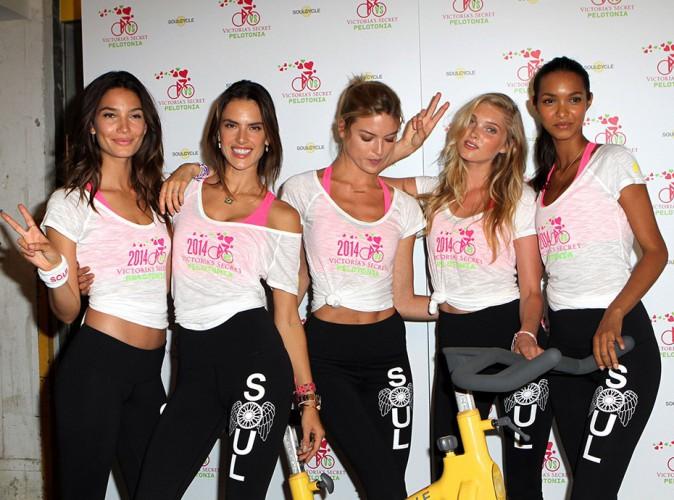Photos : Alessandra Ambrosio : en grande forme à NYC, elle s'éclate avec ses copines de Victoria's Secret !