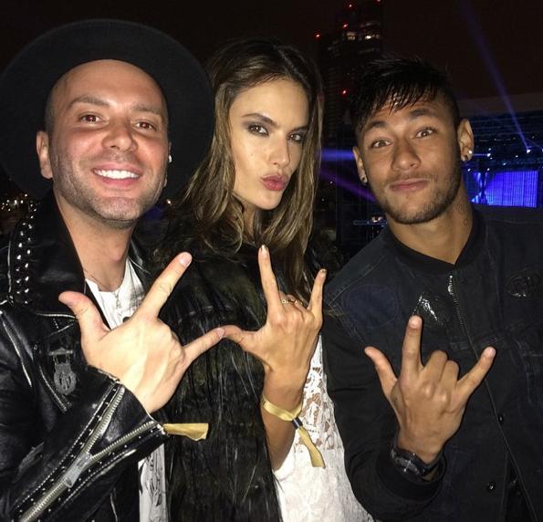 Photos : Alessandra Ambrosio et Neymar : duo brésilien à tomber !