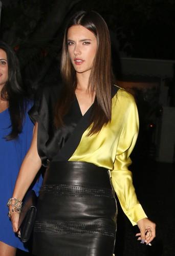 Alessandra Ambrosio à Los Angeles le 1er mai 2014