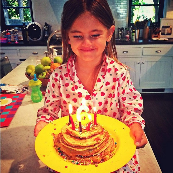 Anja a eu 6 ans hier !