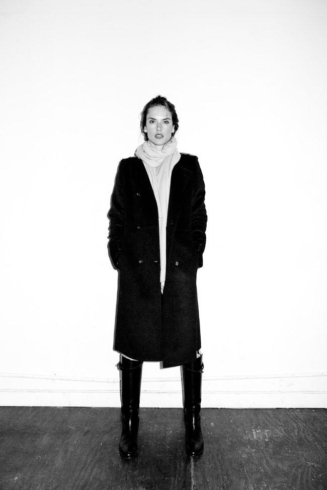 Alessandra Ambrosio shootée par Terry Richardson
