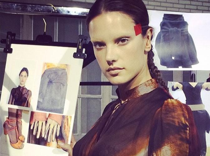 Alessandra Ambrosio : l'autre top star du défilé Givenchy !