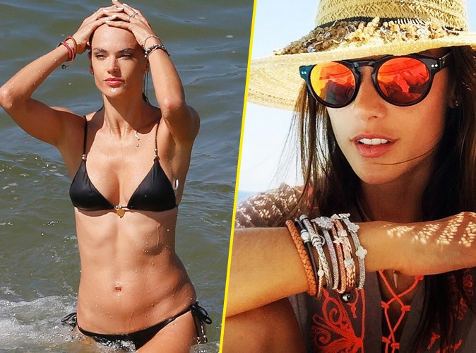 Alessandra Ambrosio : la bombe brésilienne emmène sa sublime silhouette à Mykonos !