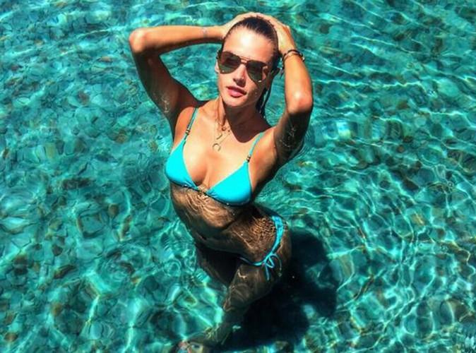 Alessandra Ambrosio : la sublime naïade en action dans son paradis brésilien !