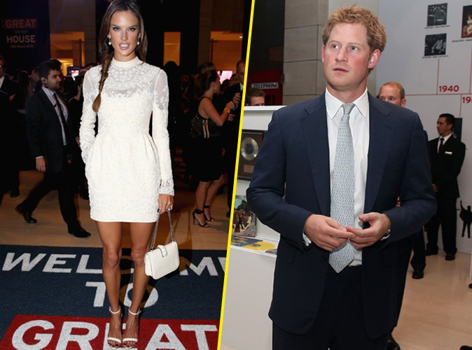 Photos : Alessandra Ambrosio : la top est partie à la rencontre du Prince Harry !