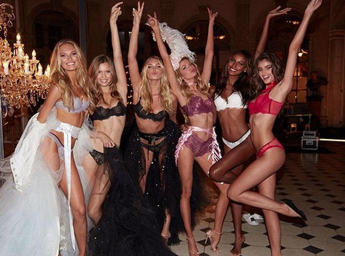 Alessandra Ambrosio, Sara Sampaio, Lily Aldridge... les bombes de Victoria's Secret débarquent à Paris !