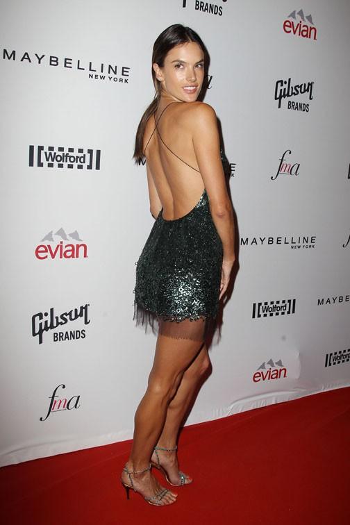 Alessandra Ambrosio à New-York le 5 septembre 2014