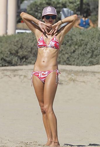 Alessandra Ambrosio à Los Angeles le 31 août 2013