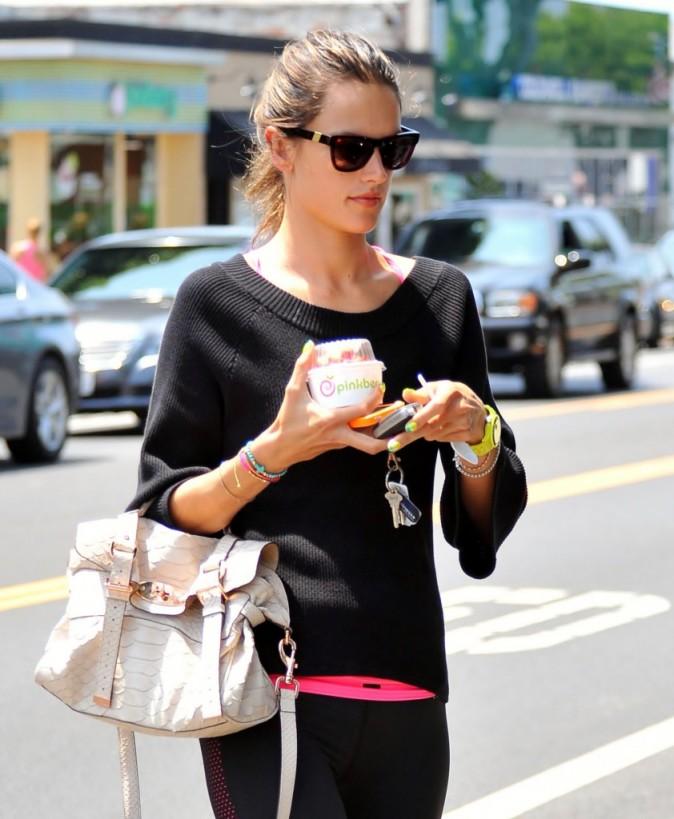 Alessandra Ambrosio, Santa Monica, 4 août.