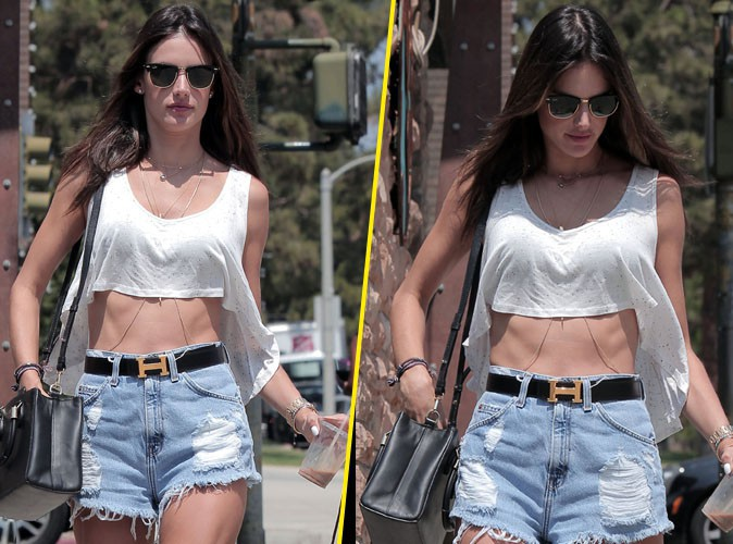 Alessandra Ambrosio : une serial shoppeuse un peu trop skinny ?