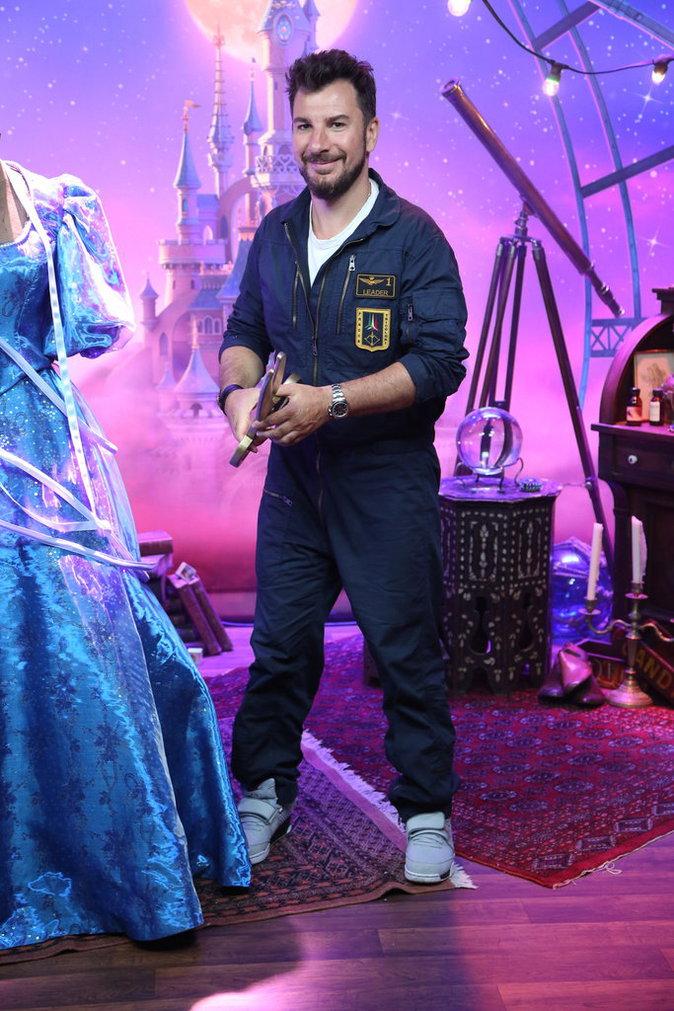 Michael Youn lors du lancement du nouveau spectacle de Disneyland Paris, le 2 juillet 2016.