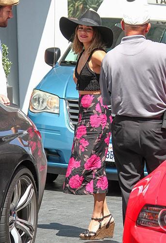 Vanessa Hudgens à Los Angeles le 22 août 2014