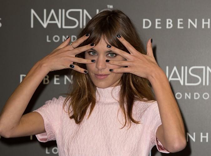 Alexa Chung à Londres le 14 août 2014