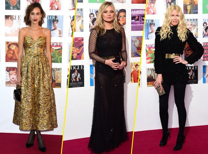 Alexa Chung, Kate Moss, Claudia Schiffer : pluie de mannequins au Gala Vogue !