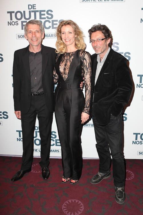 Alexandra Lamy, Jacques Gamblin et Nils Tavernier