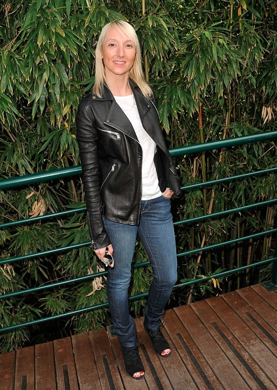 Audrey Lamy à Roland Garros, le 2 juin 2013
