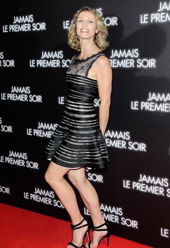 Alexandra Lamy à Paris le 19 décembre 2013