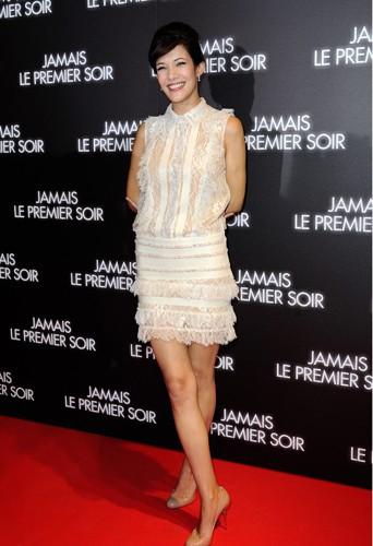 Mélanie Doutey à Paris le 19 décembre 2013