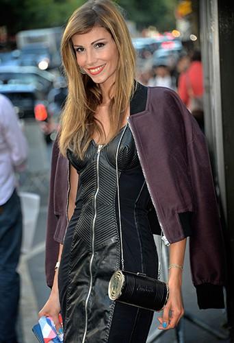 Alexandra Rosenfeld à Paris le 27 septembre 2014