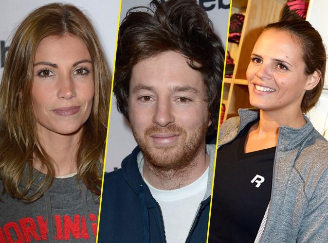 Alexandra Rosenfeld, Jean Imbert et Laure Manaudou à la soirée Reebok organisée à Paris le 4 décembre 2013