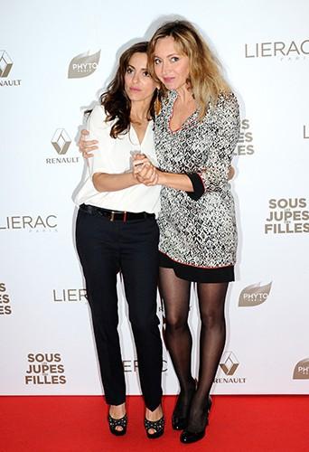 Audrey Dana et Julie Ferrier à Paris le 2 juin 2014