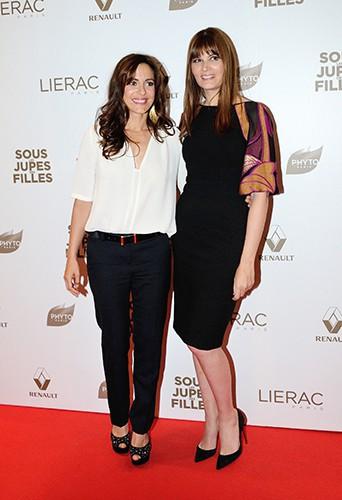 Audrey Dana et Marina Hands à Paris le 2 juin 2014
