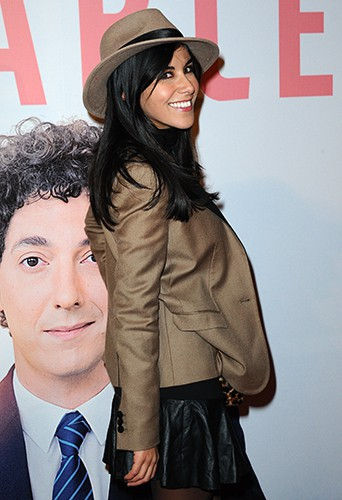 Reem Kherici à Paris le 18 novembre 2013