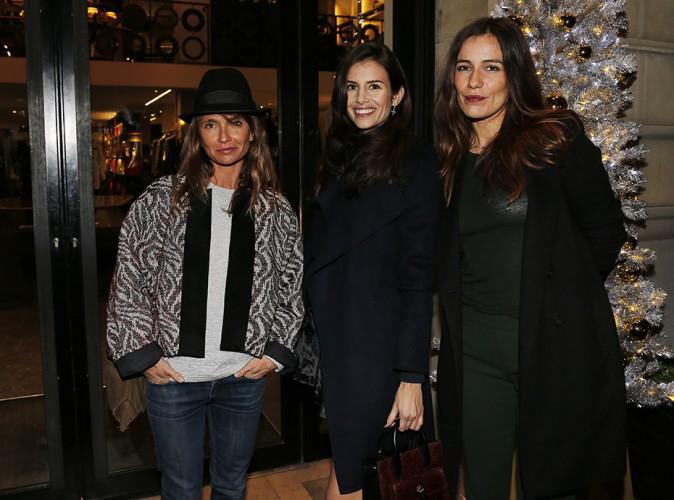 Axelle Laffont, Louise Monot et Zoé Félix à Paris le 18 novembre 2014