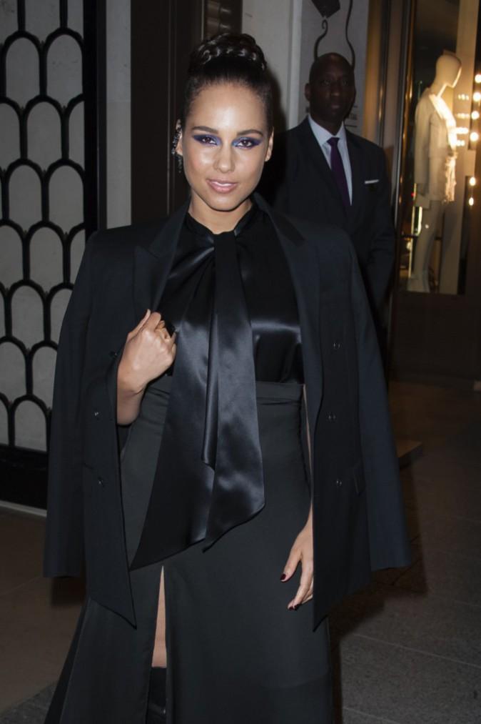 Photos : Alicia Keys : égérie Givenchy radieuse à Paris !