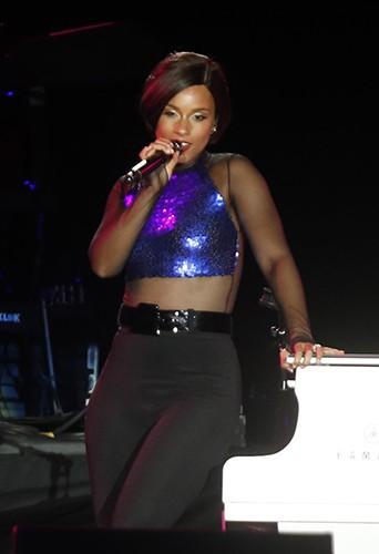 Alicia Keys à Rio de Janeiro le 15 septembre 2013