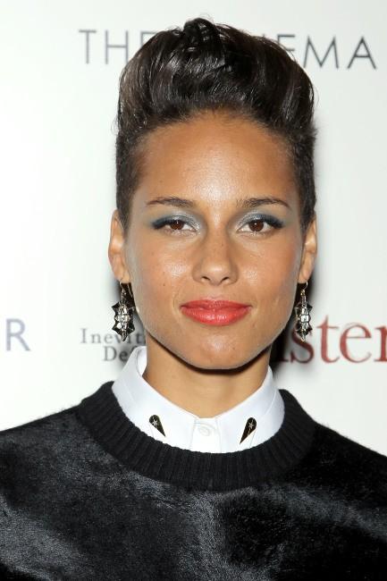 """Alicia Keys à la première du film """"The Inevitable Defeat Of Mister and Pete"""" à New York, le 2 octobre 2013."""