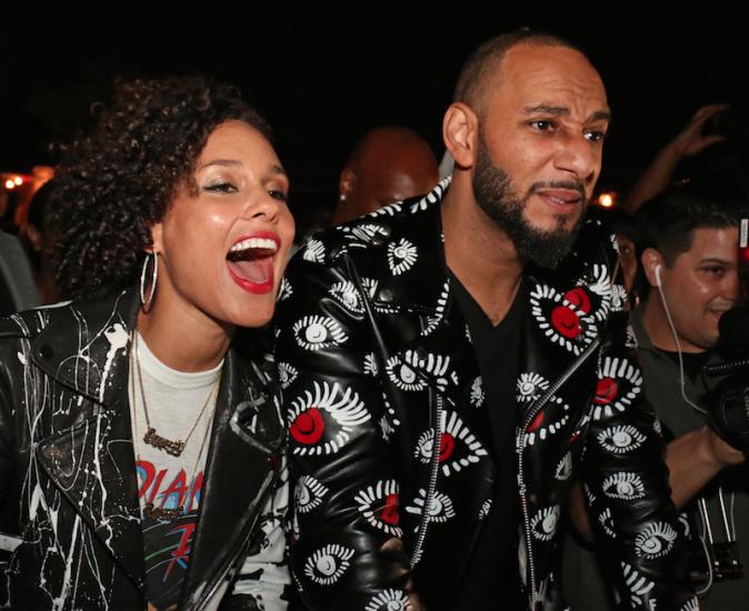 Photos : Alicia Keys surprend Swizz Beatz dans le Bronx !