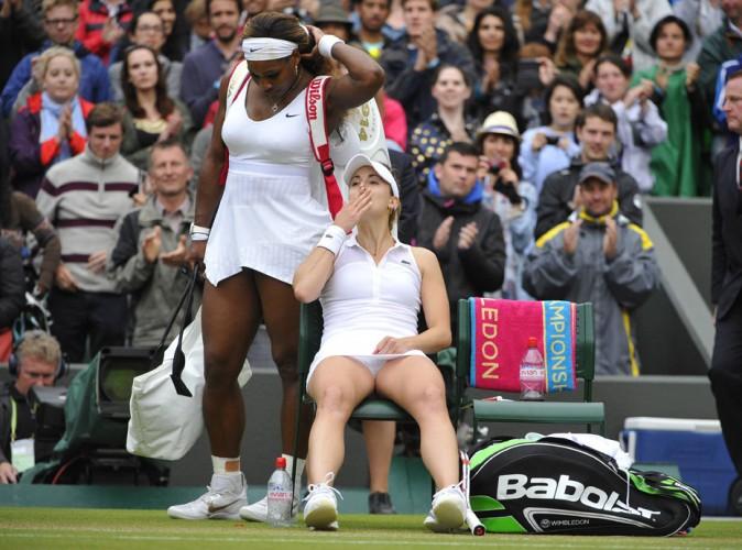 Alizé Cornet : retour en images sur l'exploit de la numéro 1 française qui a sorti Serena Williams à Wimbledon !